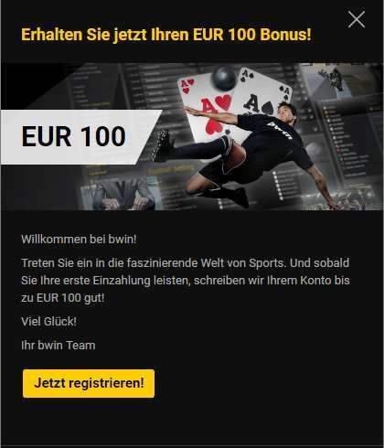bwin Test - Header