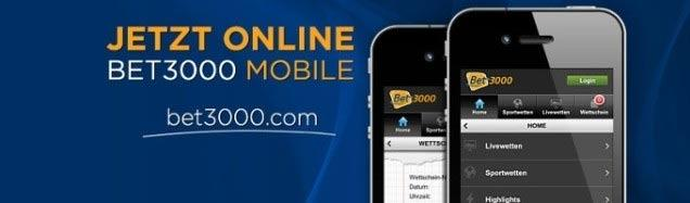 Bet3000 App Android