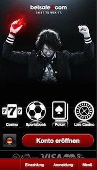 Betsafe Iphone