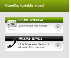 Comeon Kundenservice