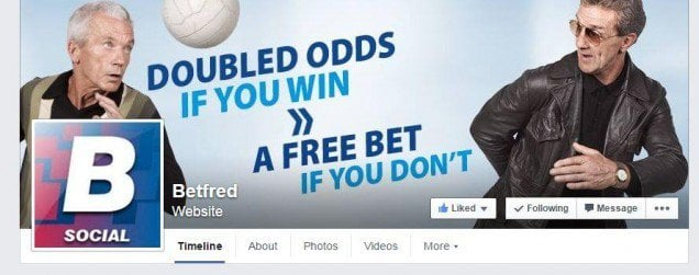 betfred auf facebook