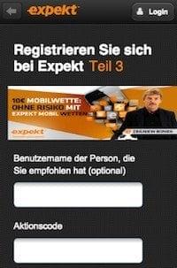 expekt app