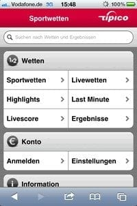 Fussball Wetten Apps Mobile Fussballwetten Apps Fur Ios