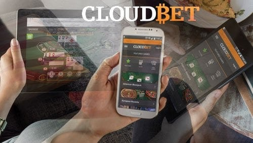Cloudbet App - Header