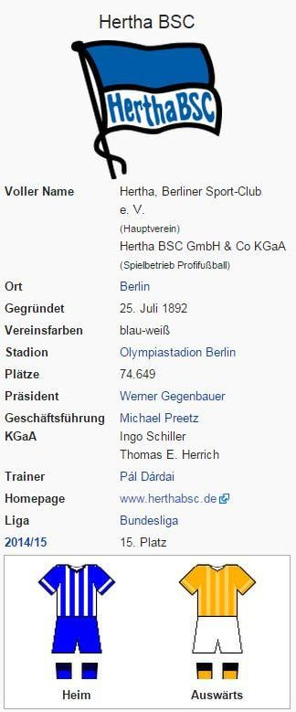 Hertha BSC – Wikipedia