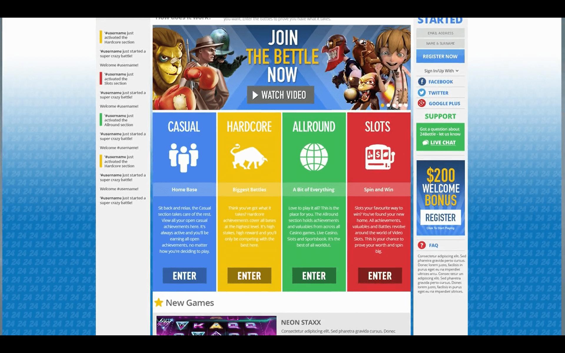 Admiral x Casino Bonus voor registratie