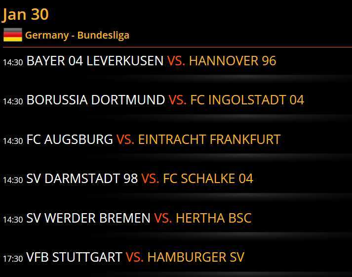 bet and win bundesliga quoten