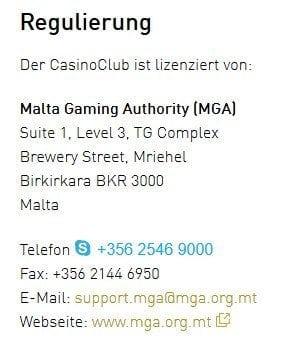 online casino Kontakt 3