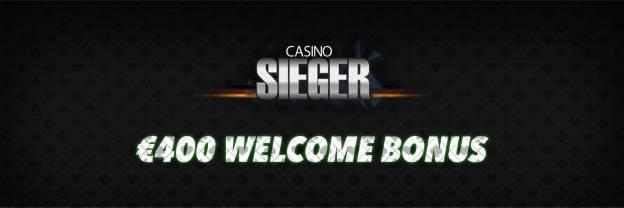 Casino Sieger Bonus - Header