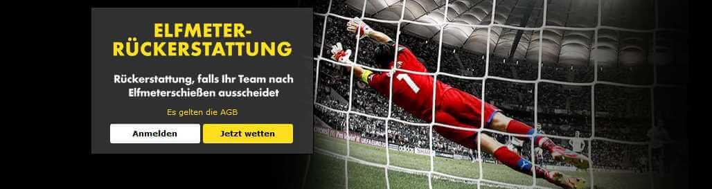Elfmeter bet365 - Header