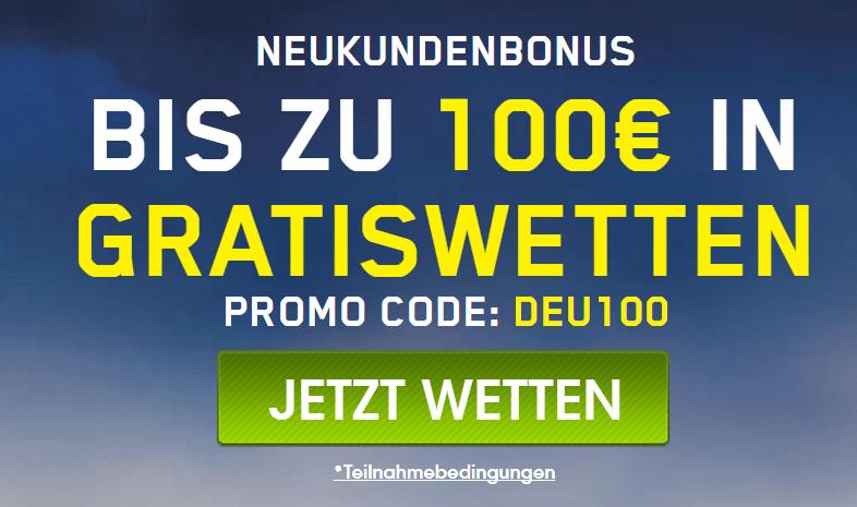 online wette bonus
