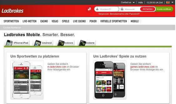 Ladbrokes App - Download