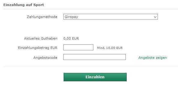 Zahlung Per Giropay