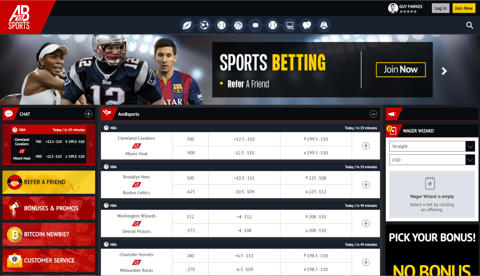 sportwetten online test