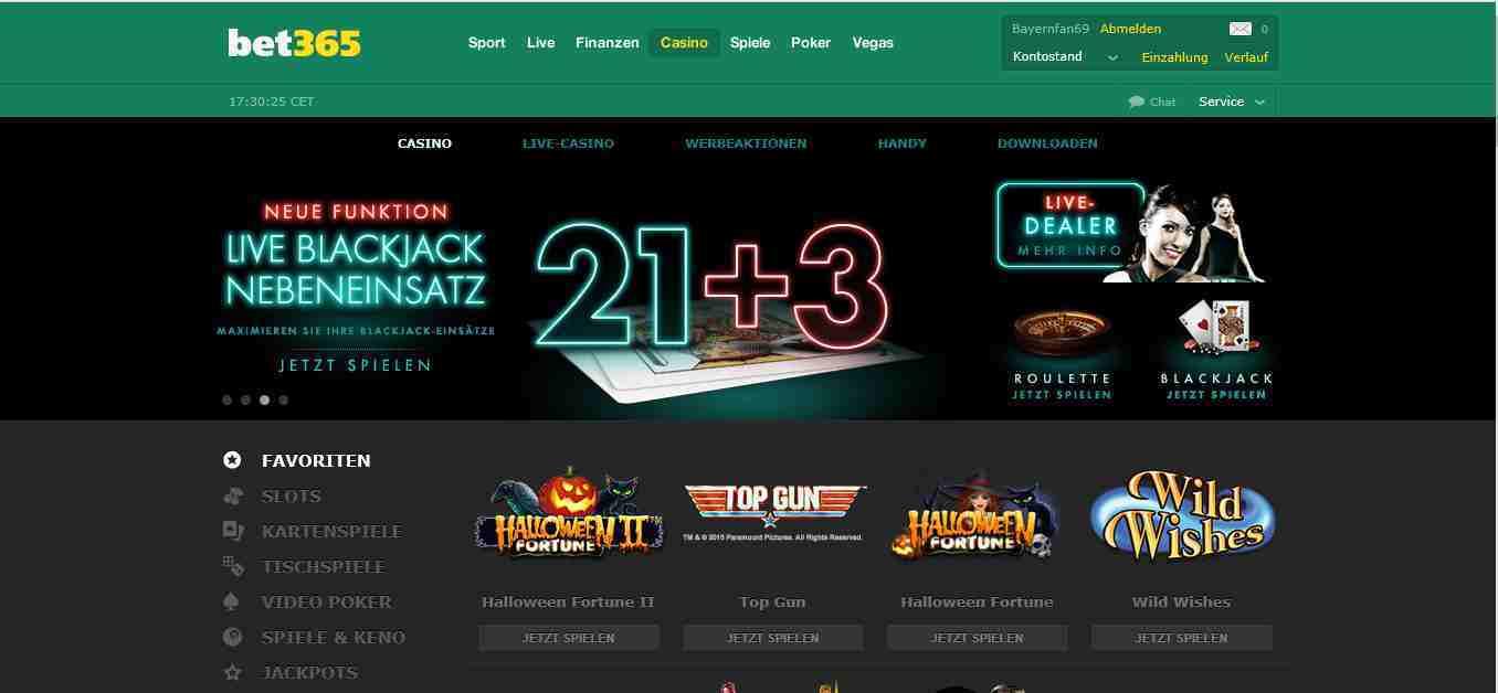 bet365 casino tipps