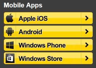 Interwetten App - Anwendungen