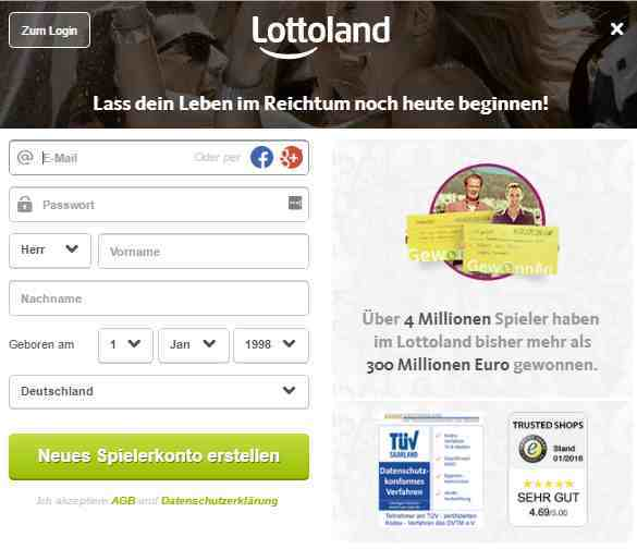 lottoland test