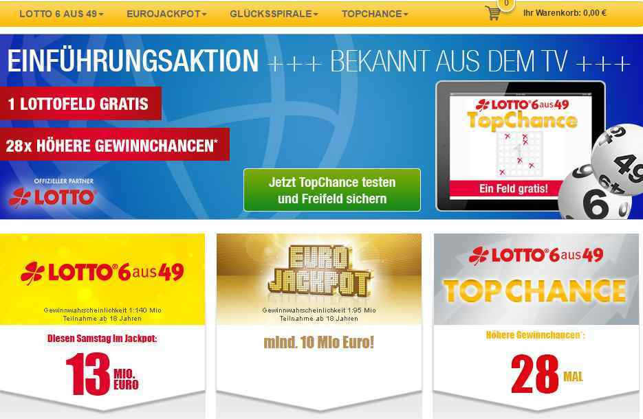 lotto online test