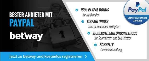 betway Zahlungsmethoden - Header