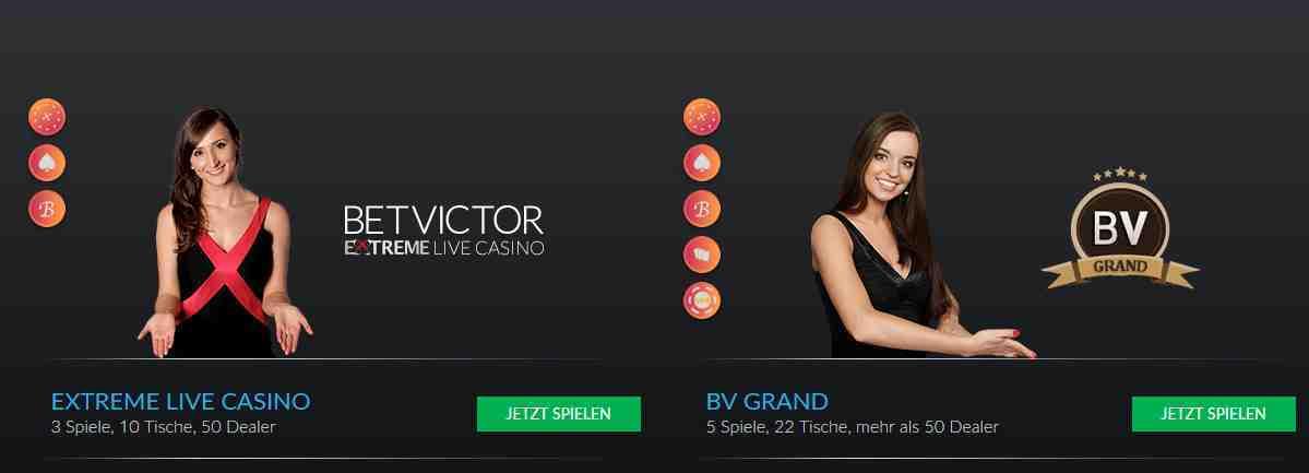 BetVictor Casino Erfahrungen - Live Casino
