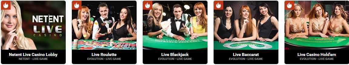 Casinovo Erfahrungen - Live Casino