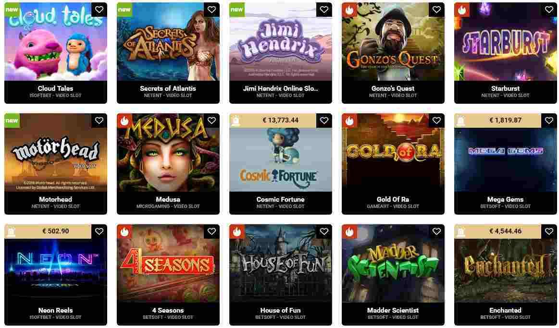 Casinovo Erfahrungen - Spieleangebot