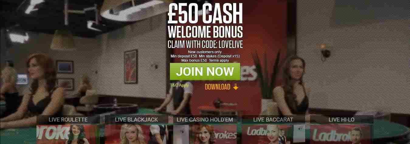 Ladbrokes Casino Erfahrungen - Live Casino