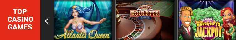 Ladbrokes Casino Erfahrungen - Spieleangebot