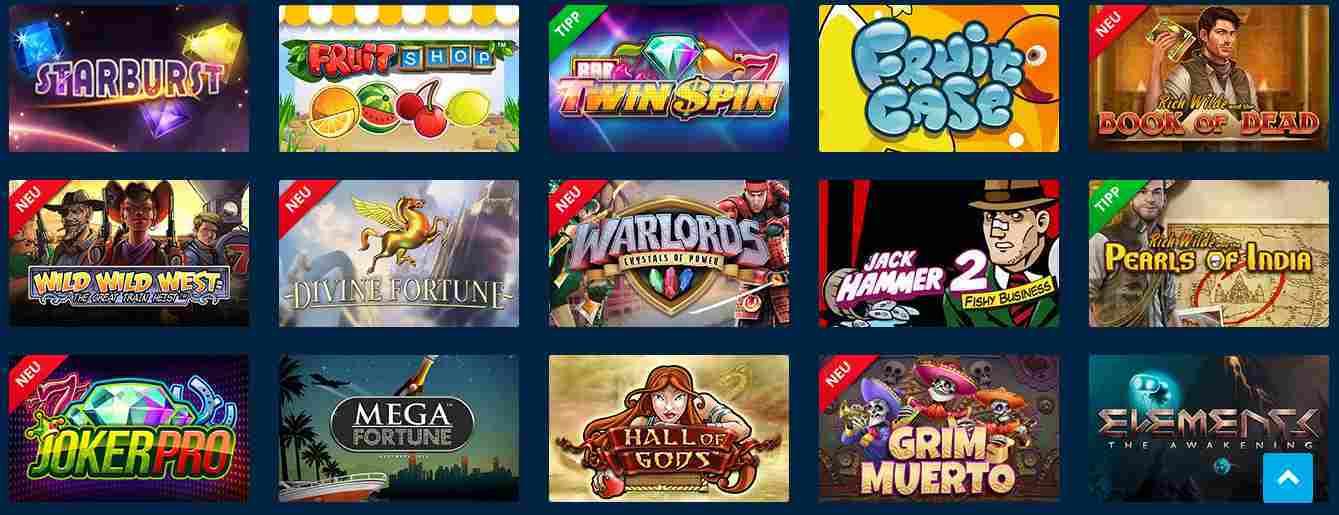 Sportingbet Casino Erfahrungen - Spieleangebot