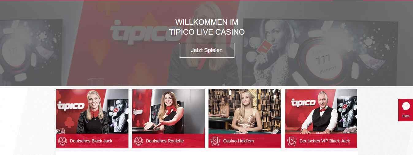 Tipico Casino - Live Casino