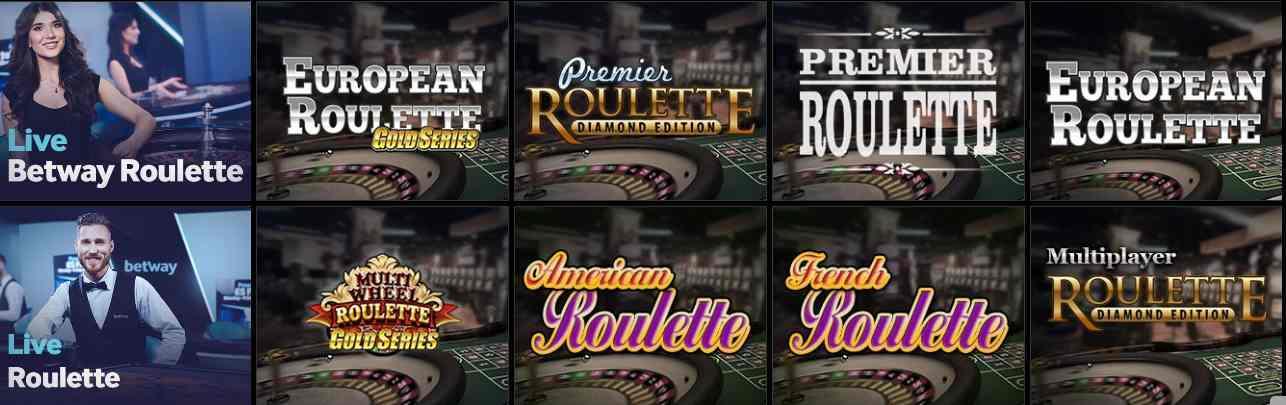 betway Casino Erfahrungen - Spieleangebot