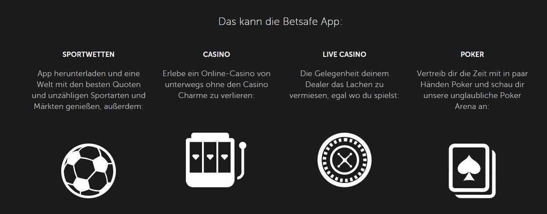 Betsafe Casino Erfahrungen - Mobil