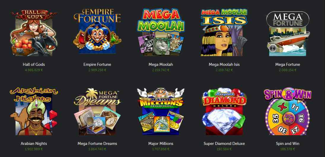 Betsafe Casino Erfahrungen - Spieleangebot