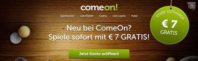 ComeOn Casino Erfahrungen - Bonus