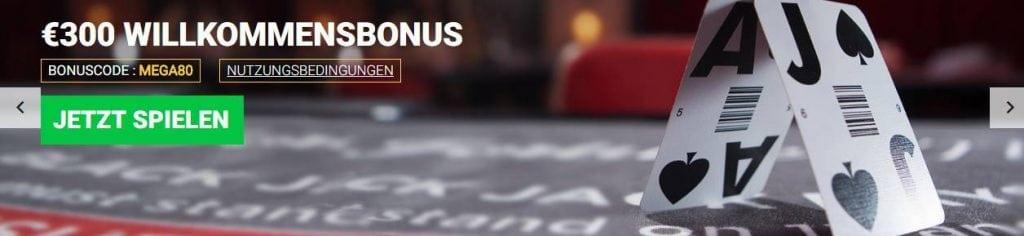 Mega Casino Erfahrungen - Bonus