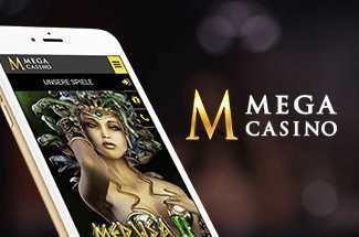 Mega Casino Erfahrungen - Mobil