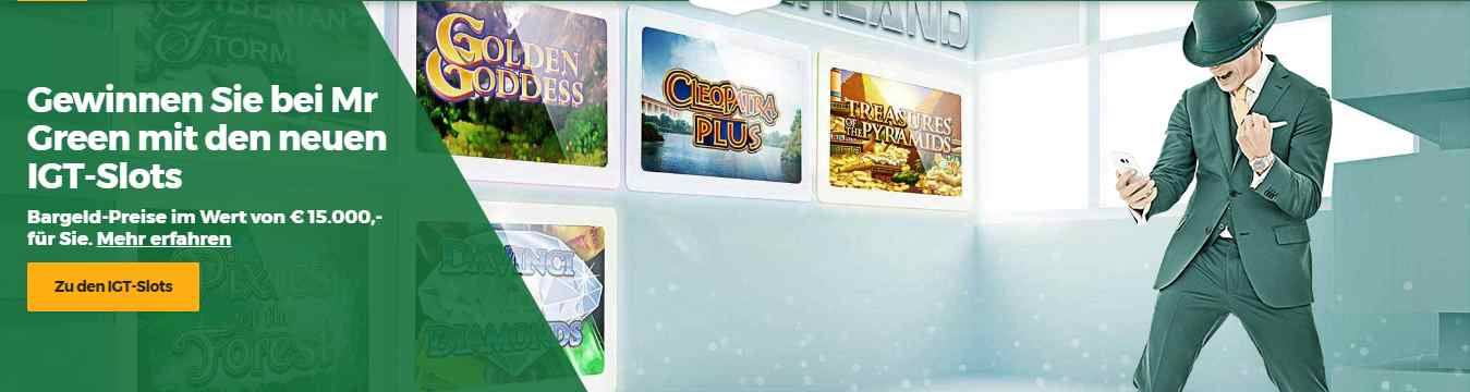 Mr. Green Sportwetten Erfahrungen - Casino