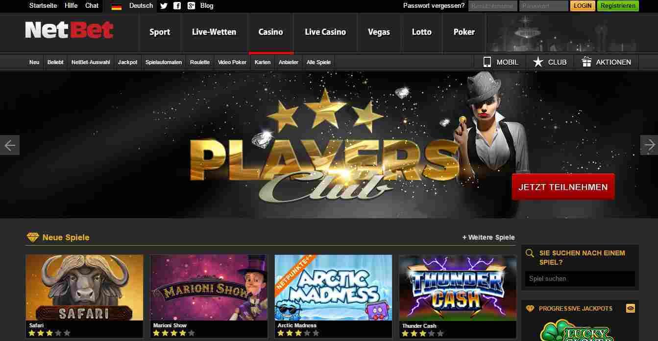 NetBet Casino Erfahrungen – Das Online Casino von NetBet im Test