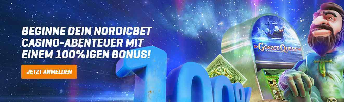 NordicBet Casino Erfahrungen - Bonus
