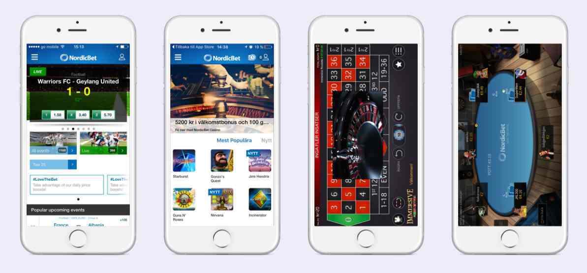 NordicBet Casino Erfahrungen - Mobil