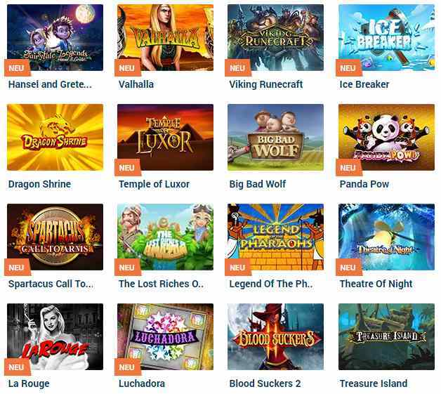 NordicBet Casino Erfahrungen - Spieleangebot