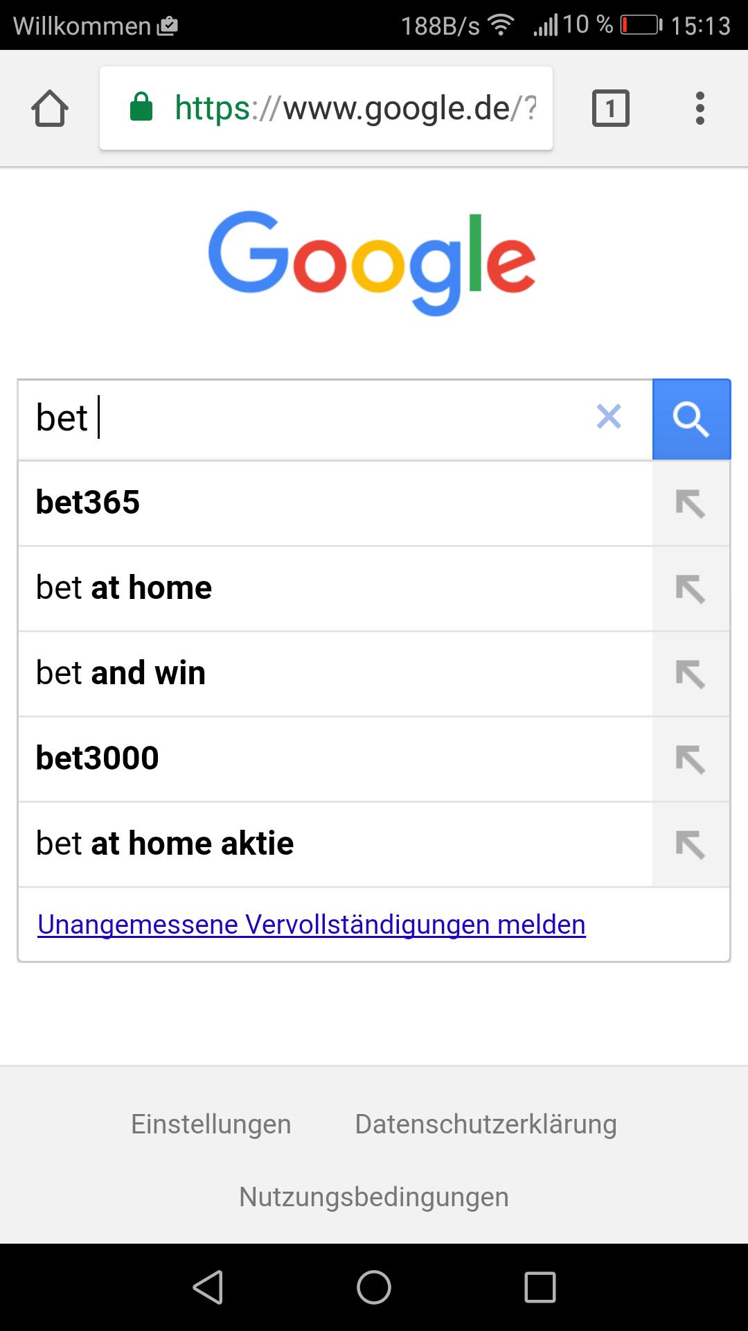 Bet and win sportwetten