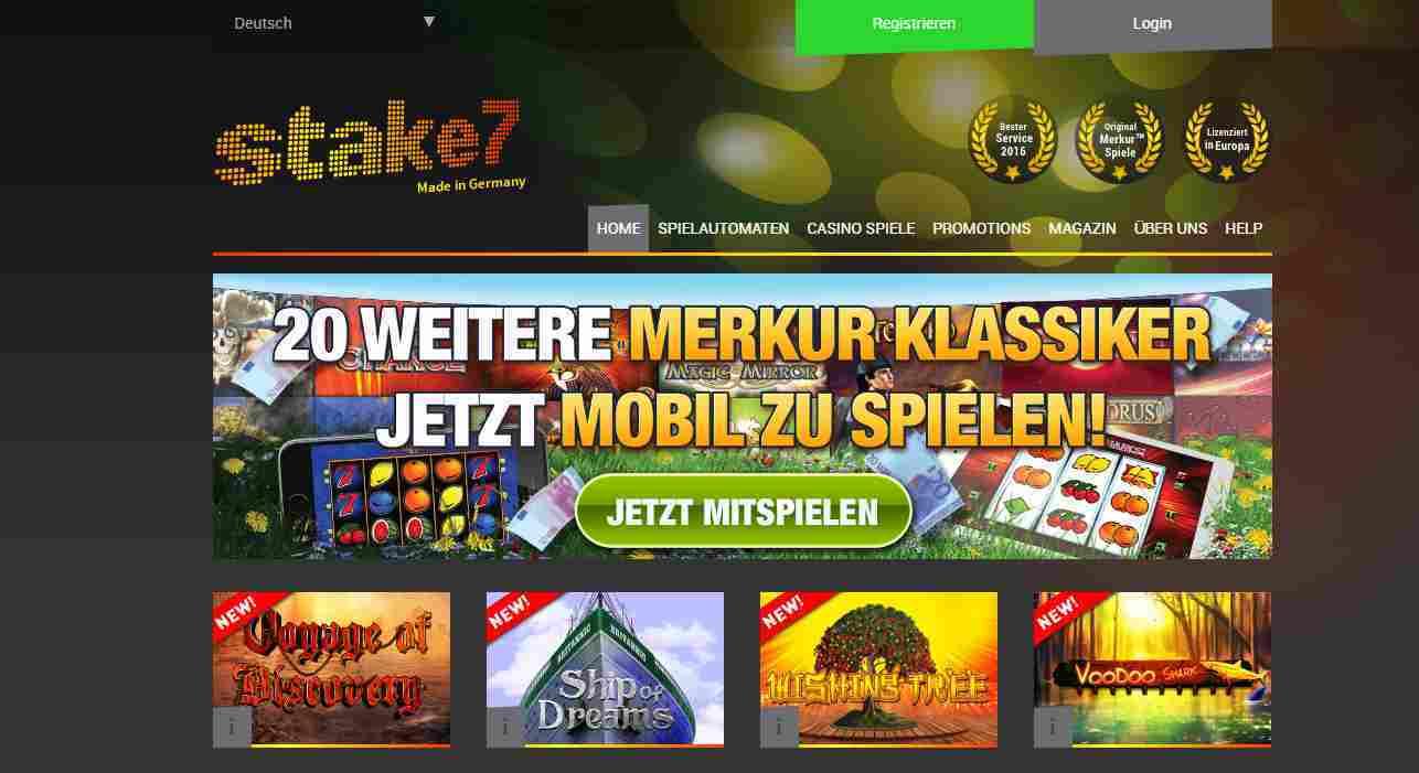 Stake7 Casino Erfahrungen - Header