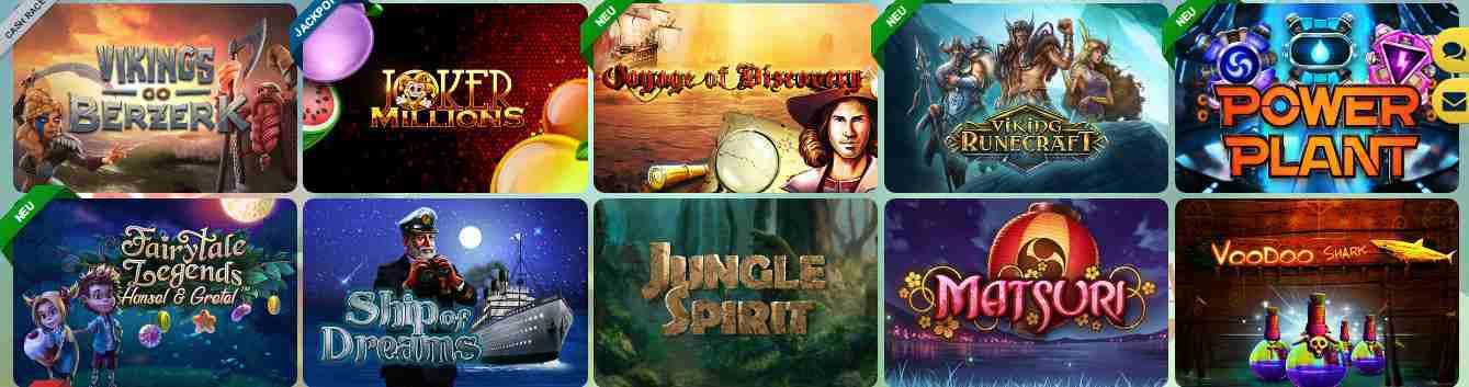 Sunnyplayer Casino Erfahrungen - Spieleangebot