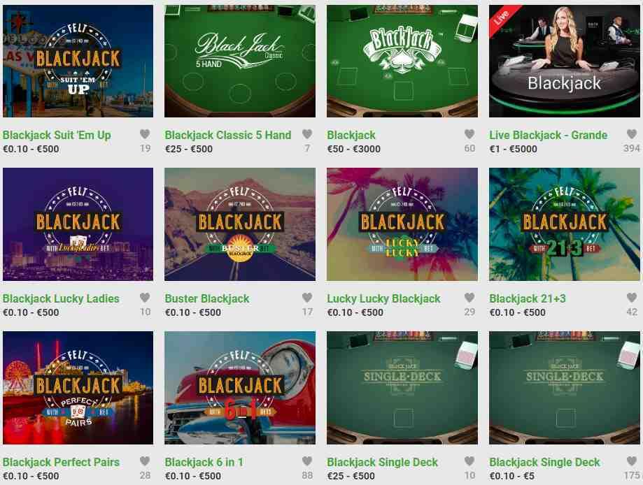 Unibet Casino Erfahrungen - Spieleangebot