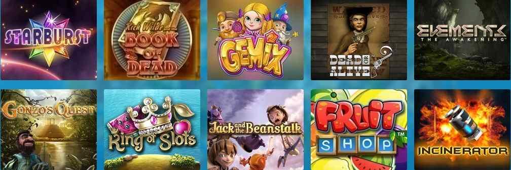 Casino Heroes Erfahrungen - Spieleangebot