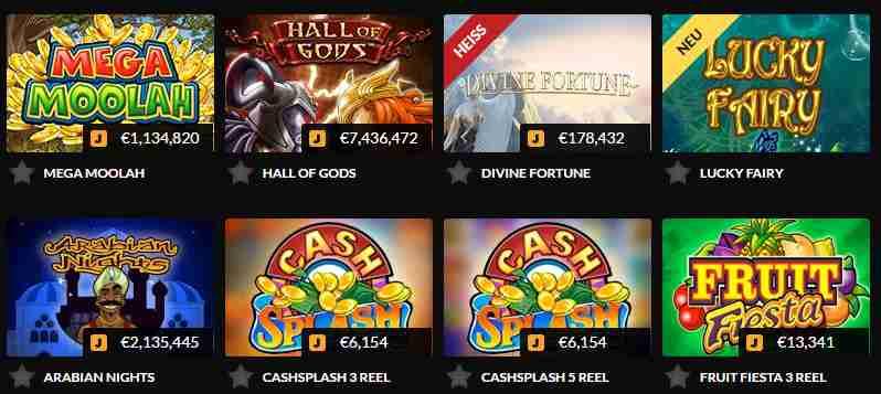 Guts Casino Erfahrungen - Spielangebot