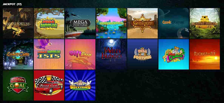 Kaboo Casino Erfahrungen - Spieleangebot