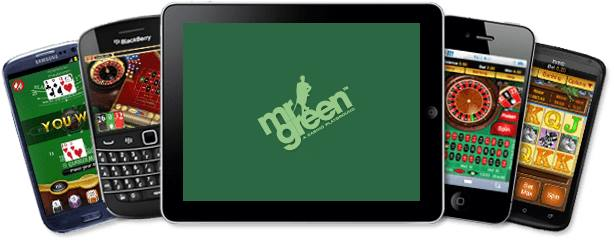 Mr. Green App - Header