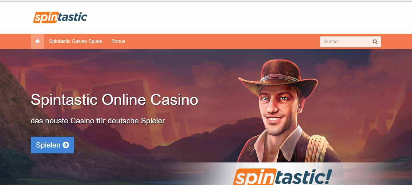 Spintastic Casino Erfahrungen - Header